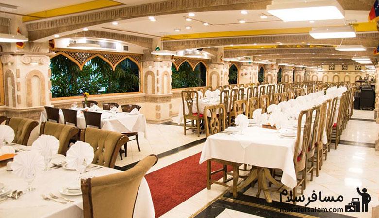 Ferdowsi-Hotel-Olive-Restaurant، رستوران زیتون