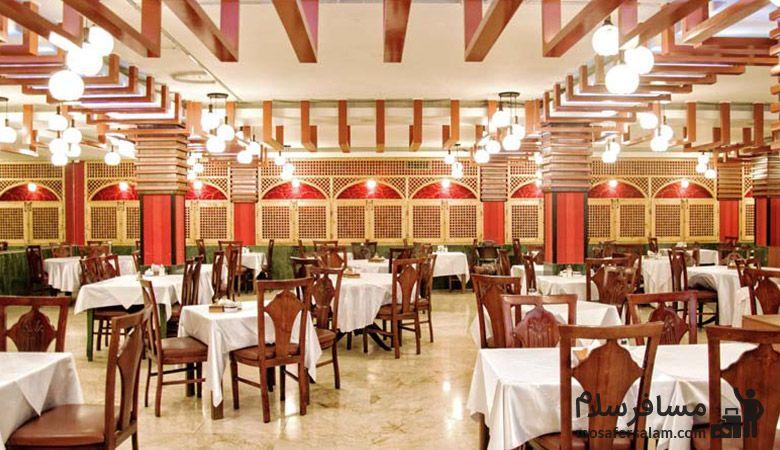Ferdowsi-Hotel-Tehran-Breakfast-Room، سالن صبحانه خوری هتل فردوسی تهران