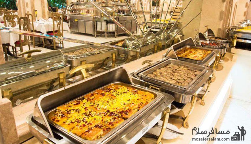 رستوران هتل فردوسی تهران