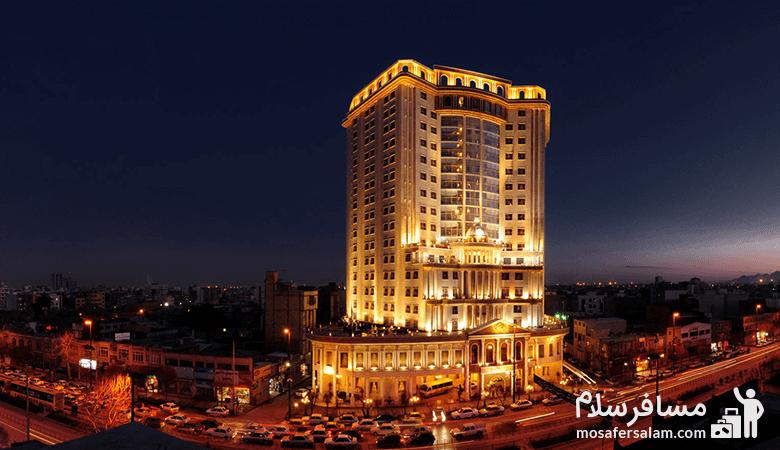 Hotel-Golden-Palace-of-Mashhad، هتل قصر طلایی