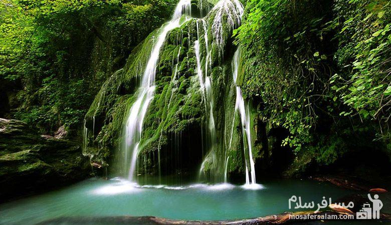 Kaboudal-waterfall، آبشار کبودوال