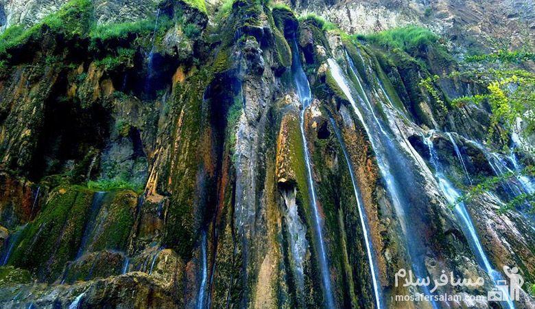 Margoon-waterfall، آبشار مارگون