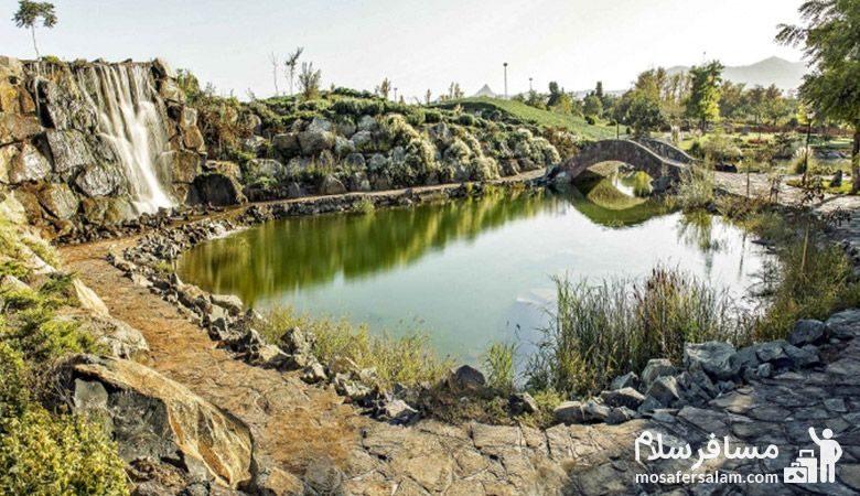 برکه باغ گیاه شناسی مشهد