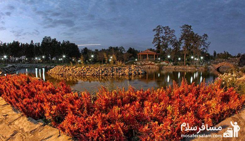 شبهای باغ گیاه شناسی مشهد