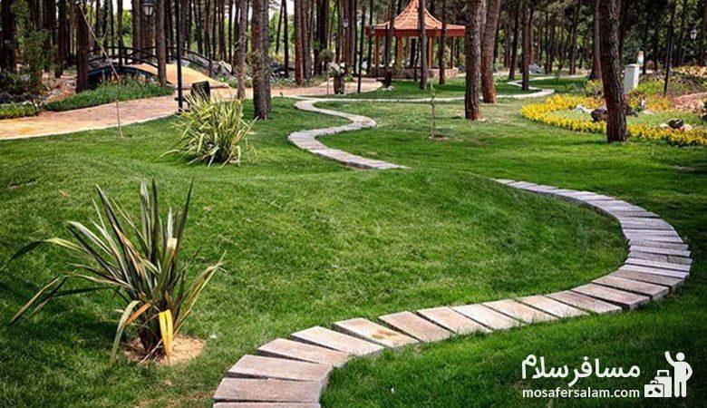 معابر باغ گیاه شناسی مشهد