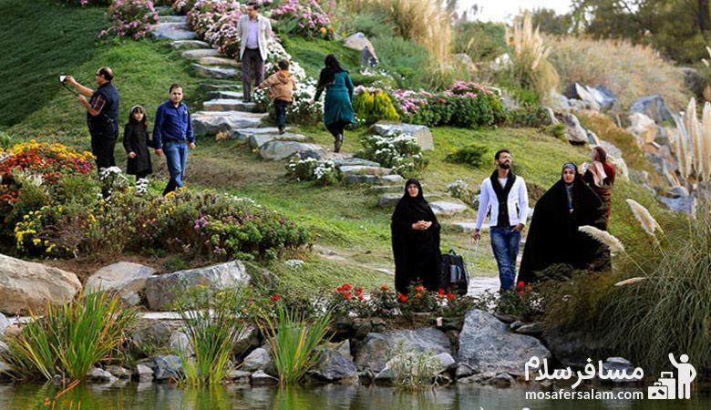 بازدید از باغ گیاه شناسی مشهد