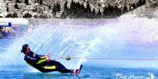 اسکی روی آب در چالیدره مشهد