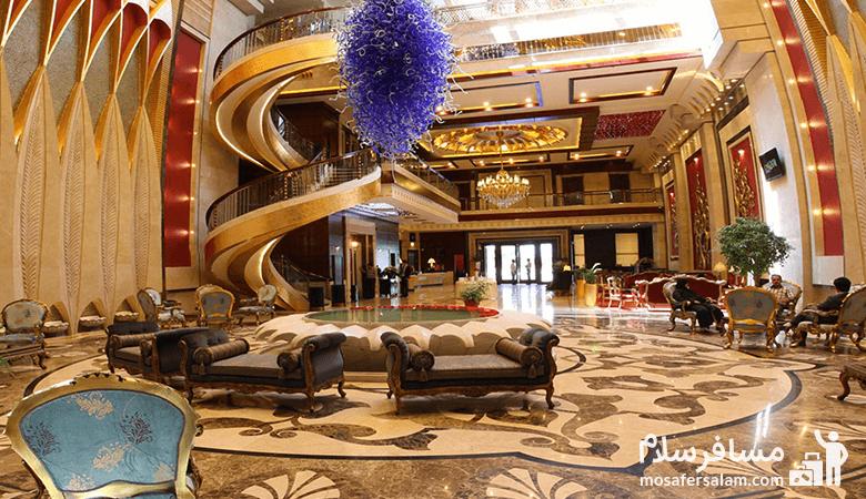 Mashhad-Luxury-Dervish-Hotel، هتل مجلل درویشی مشهد