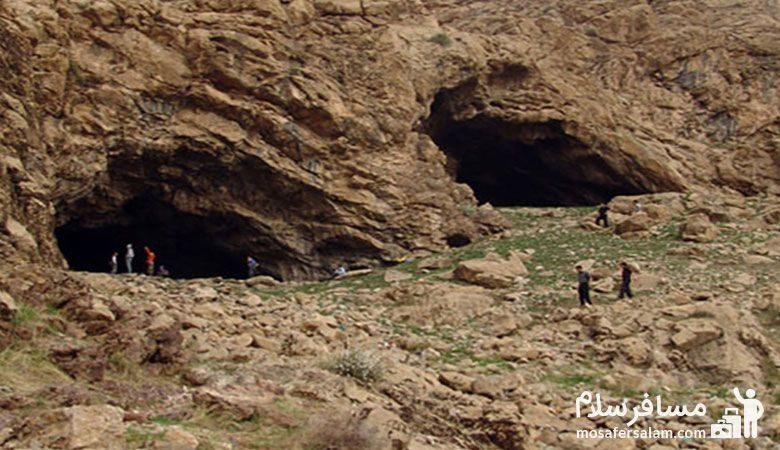 غار مغان مشهد