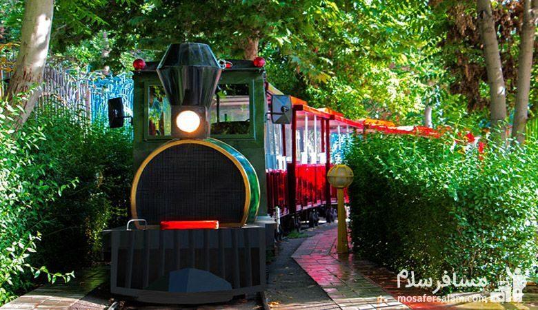 قطار خانواده شهربازی پارک ملت مشهد
