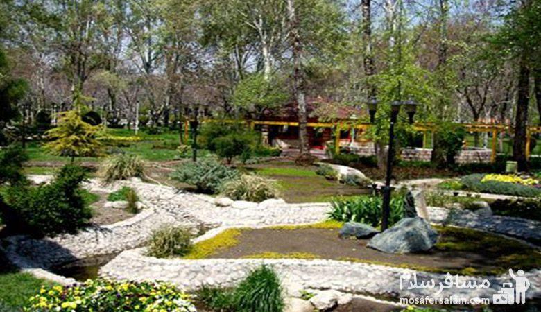 فضای سبز پارک ملت مشهد