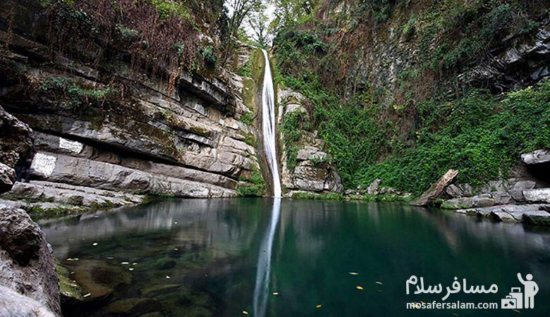 آبشار شیرآباد | 6 آبشار ایران