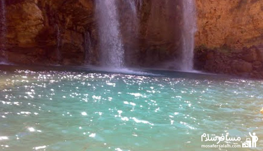 آبشار شِوی یا تله زنگ