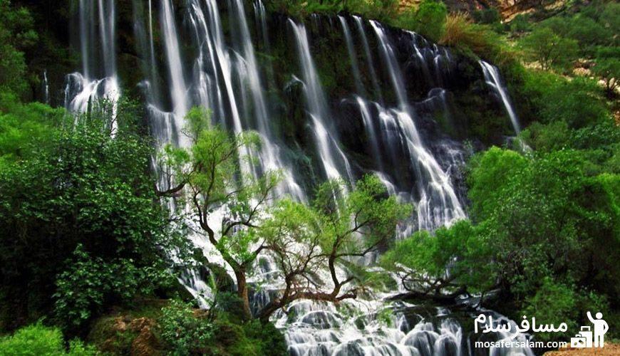 طبیعت بکر آبشار شِوی