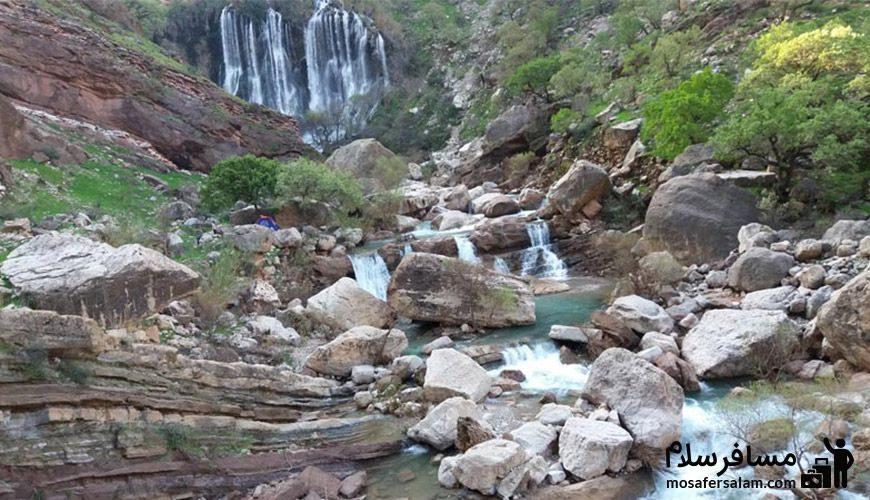 آبشار شِوی، جواهری ارزشمند
