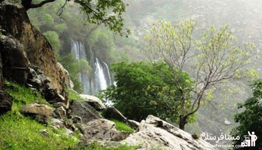 آبشار شِوی استان خوزستان