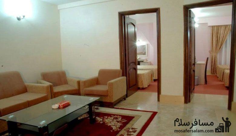 اتاق های هتل مینو مشهد