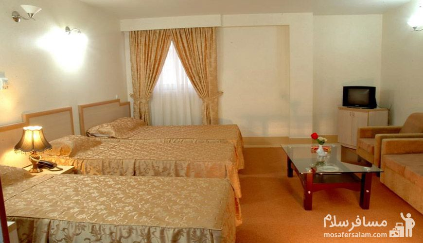 قیمت اتاق های هتل مینو مشهد