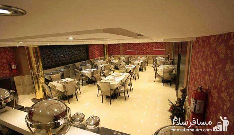 رستوران هتل سپنتا مشهد