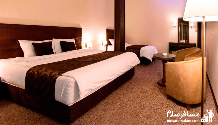 اتاق هتل جواهر شرق