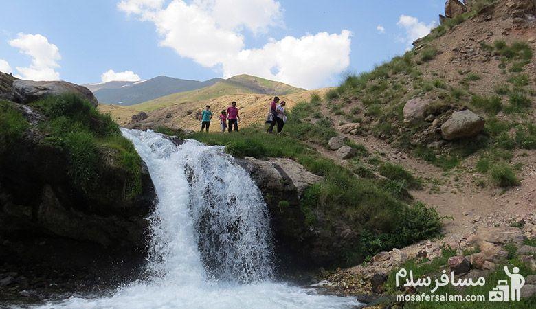آبشار گورگور سرعین، مسافرسلام
