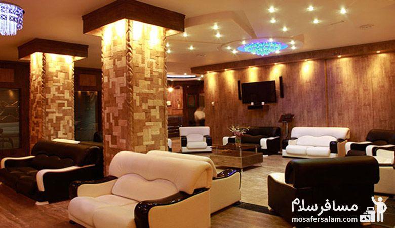 لابی هتل آپادانا مشهد، مسافرسلام