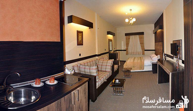 اتاق هتل آپادانا مشهد، هتل آپادانا مشهد، مسافرسلام