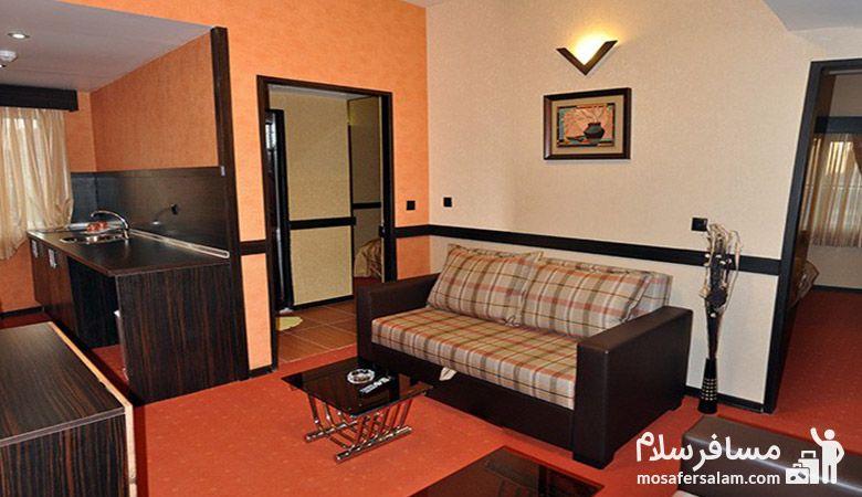 سوئیت هتل آپادانا مشهد، هتل آپادانا مشهد، گروه گردشگری مسافرسلام