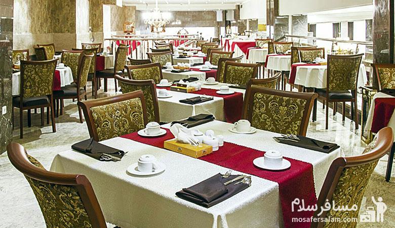 هتل ایران زمین مشهد، مسافرسلام، تور مشهد هتل ایران زمین