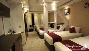 هتل سپنتا مشهد، هتل های 3 ستاره مشهد، رزرواسیون مسافرسلام
