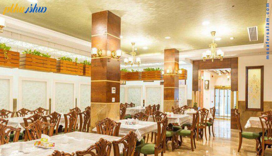 رستوران هتل آپارتمان رواق مشهد
