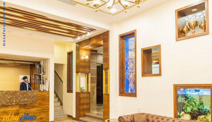 لابی هتل آپارتمان رواق مشهد