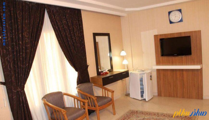 اتاق هتل آپارتمان همتا مشهد
