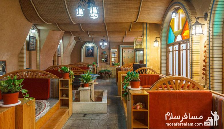 چایخانه سنتی هتل نور مشهد، تور هتل نور مشهد، رزرواسیون مسافرسلام