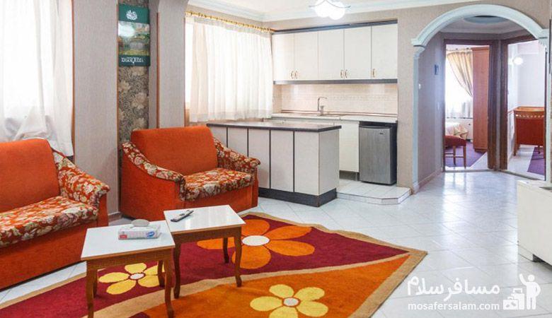 سوئیت هتل نور مشهد، تور هتل نور مشهد، هتل نور مشهد، مسافر سلام