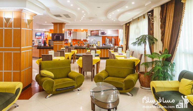 لابی هتل نور مشهد، تور هتل نور مشهد، هتل نور مشهد، رزرواسیون مسافرسلام