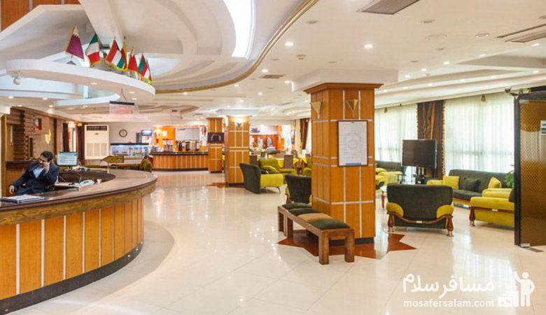تور هتل نور مشهد، پذیرش هتل نور مشهد، هتل نور مشهد، مسافرسلام