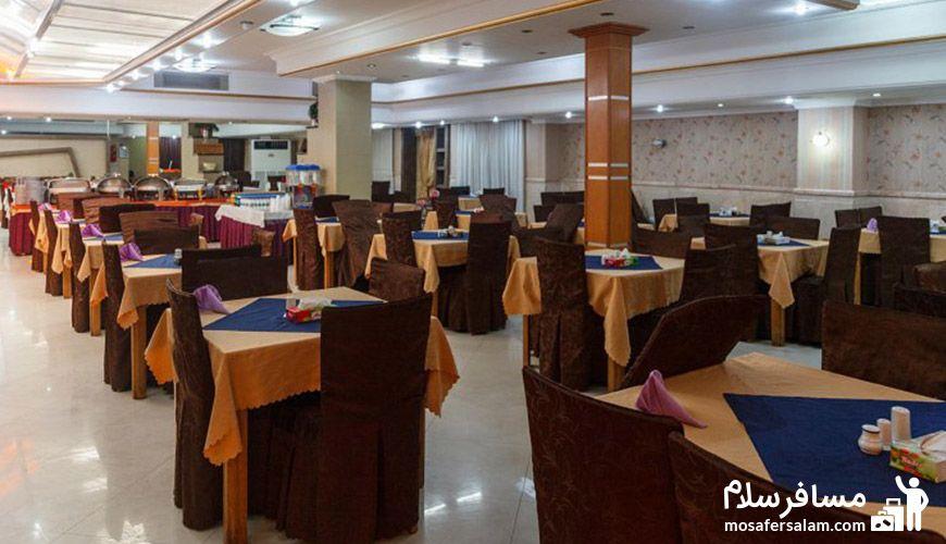 رستوران 1 هتل نور مشهد