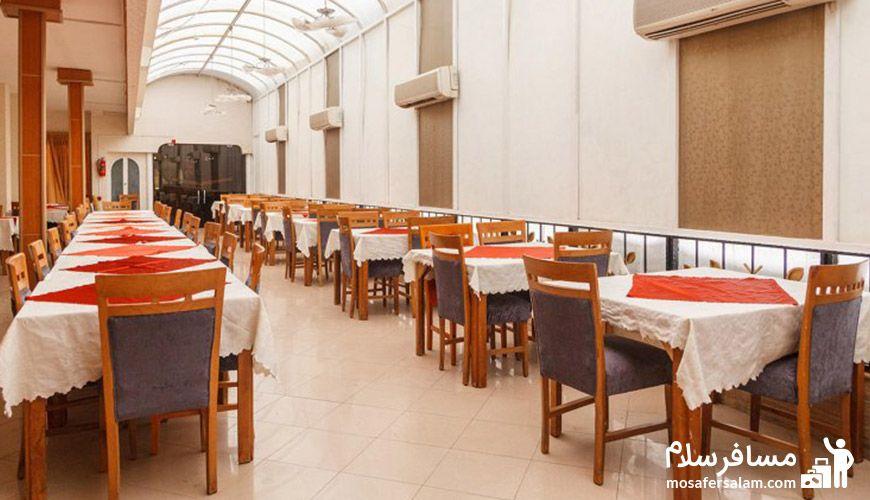 رستوران 2 هتل نور مشهد