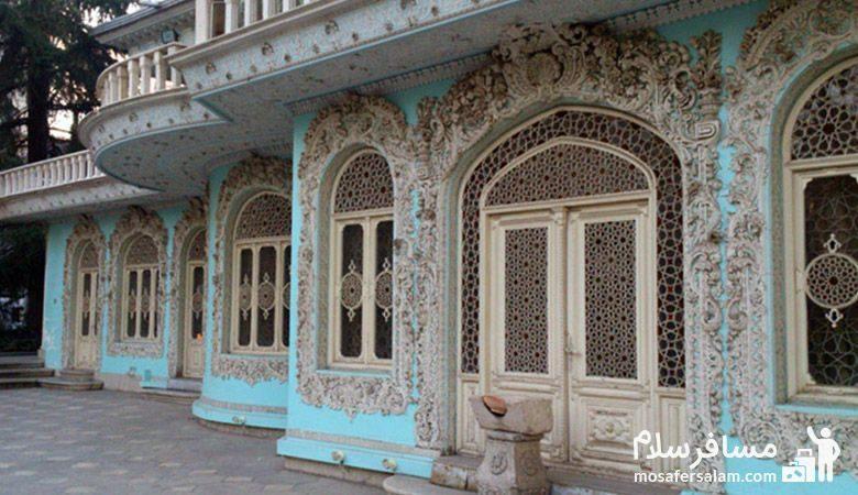 معماری ساختمان موزه زمان تهران