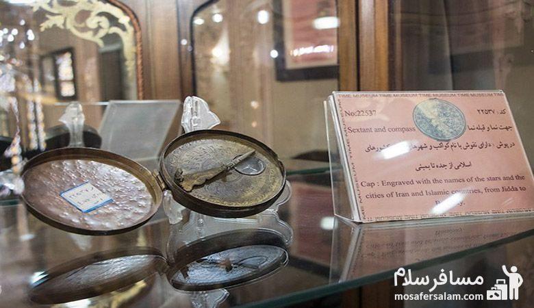 ساعت در موزه زمان تهران