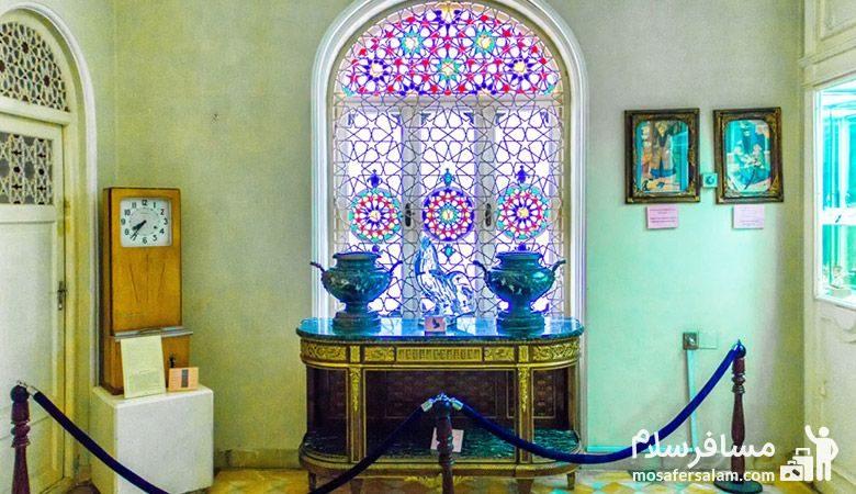 نمایی دیگر از داخل موزه زمان تهران