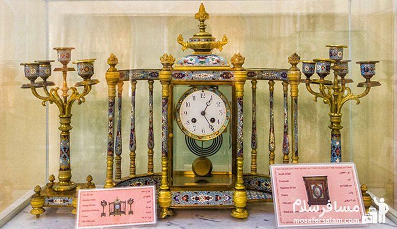 ساعتی مجلل در موزه زمان تهران