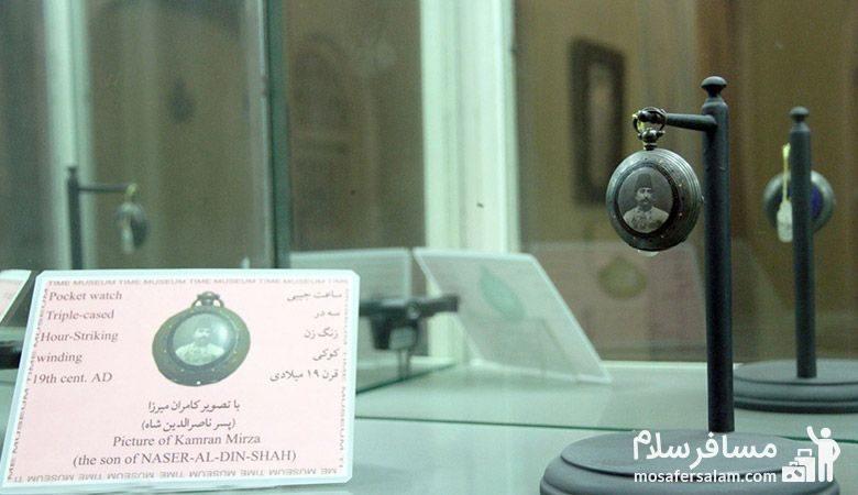 ساعتی بسیار قدیمی در موزه زمان تهران