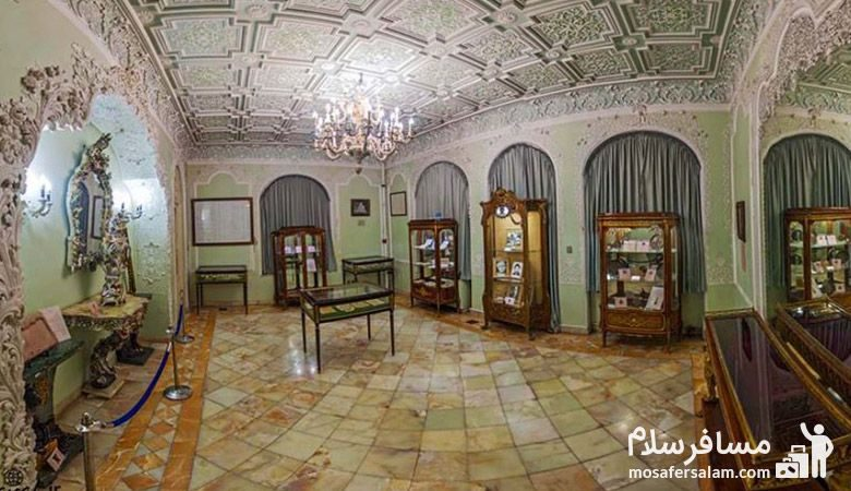 نمایی از داخل موزه زمان تهران