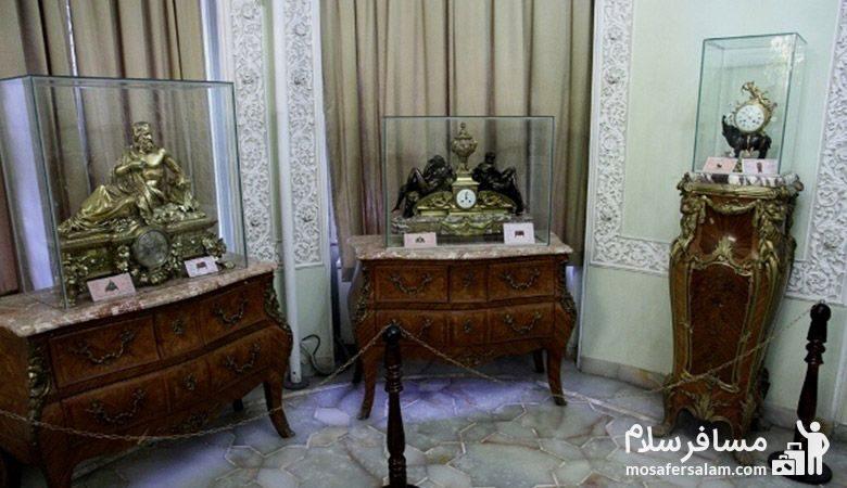 ساعت های مجلل موزه زمان تهران