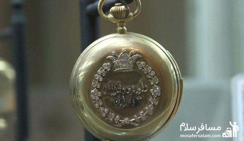 ساعت جیبی در موزه زمان تهران