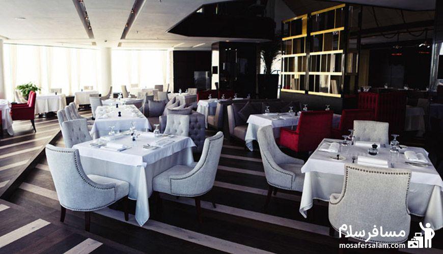 رستوران بیچه هتل پارسیان