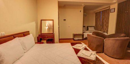 هتل الوند1 قشم اتاق دوتخته