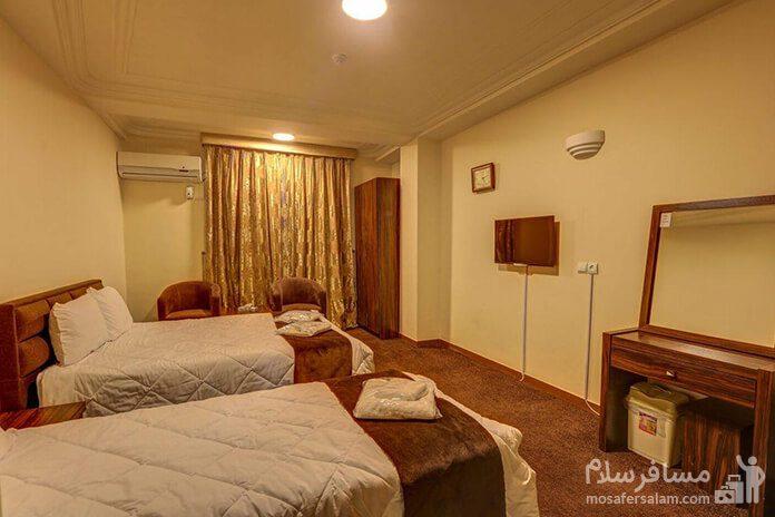 هتل الوند1 قشم، اتاق دوتخته توئین